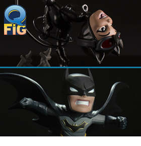 REBIRTH BATMAN & CATWOMAN Q-FIG