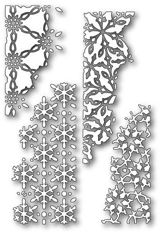 Distressed Snowdrift Collage