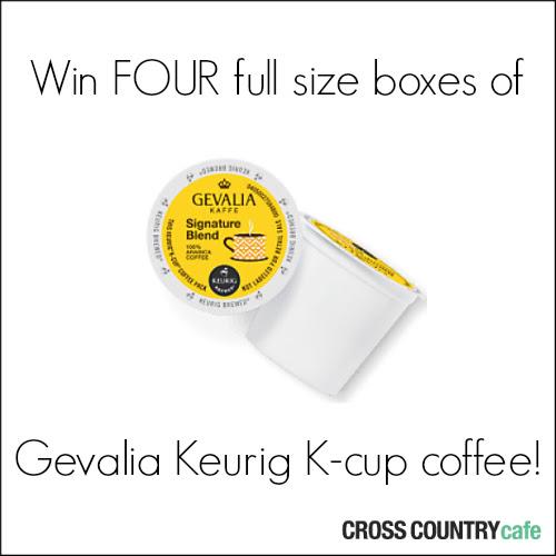 Gevalia Keurig Kcup giveaway!