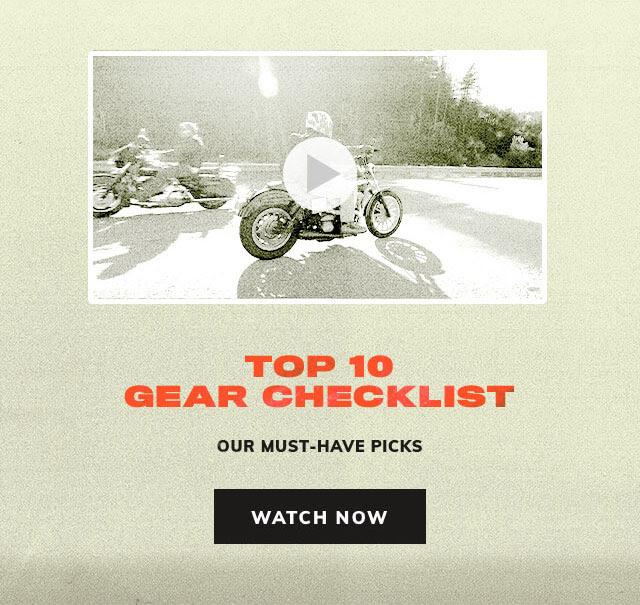 Top 10 Gear Checklist