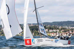 J/70 sailing Deutsche Segel-bundesliga