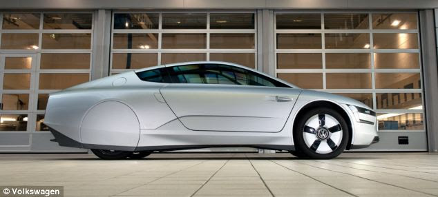 the most fuel efficient car in the world volkswagen xl1. Black Bedroom Furniture Sets. Home Design Ideas