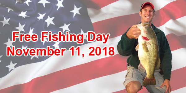 Veterans Day Is A Free Fishing Day