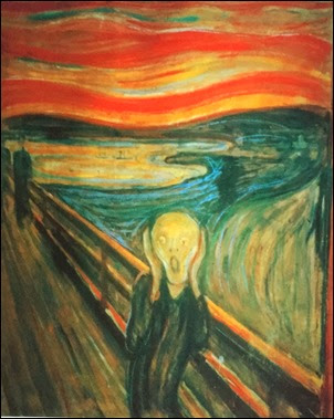 The Scream. Edvard Munch - 1907