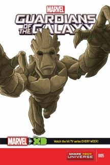 Marvel Universe Guardians of the Galaxy #5