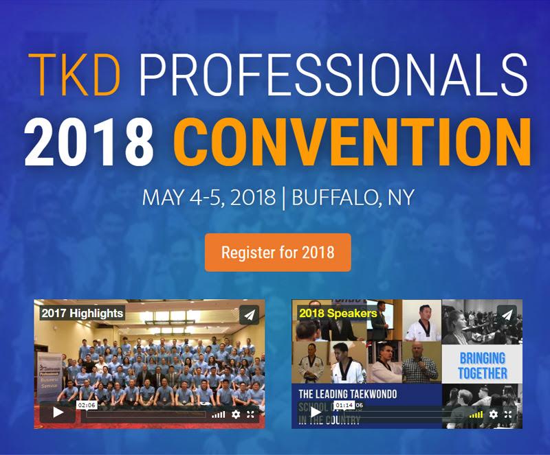 TKD Pro Convention Registration 2018