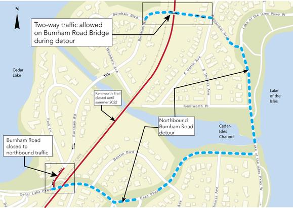 Burham Phase 1 Detour