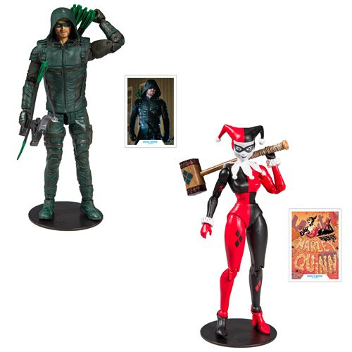 "Image of DC Comics Wave 1 - 7"" Action Figure Set of 2"
