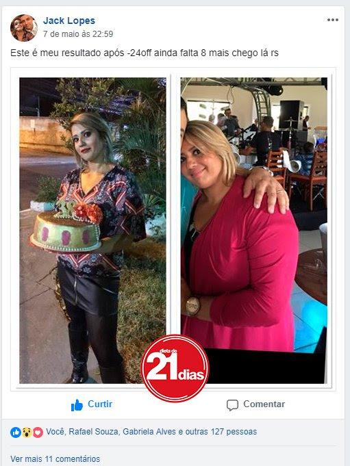 emagreçer com dieta de 21 disa