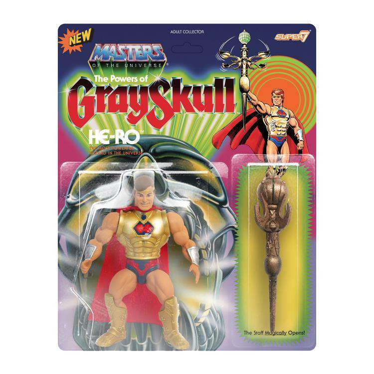 Image of Masters of the Universe Vintage He-Ro (The Powers of Grayskull)
