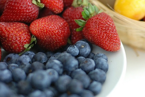 Red White & Blue<br /> Fruit Salad