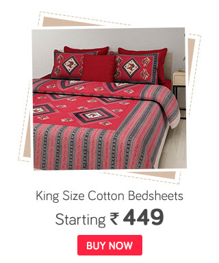 King Size Cotton Bed sheets