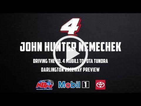 John Hunter Nemechek | Darlington Raceway Preview