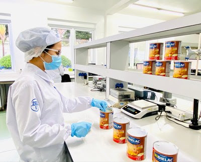 Vinamilk's R&D department contributes significantly to the success of exported products