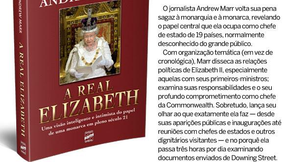 O jornalista Andrew Marr volta sua pena sagaz à monarquia e à monarca, revelando o papel central que ela ocupa como chefe de estado de 19 países, normalmente desconhecido do grande público.