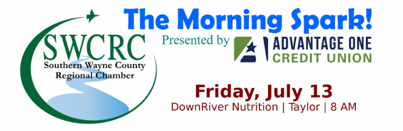SWCRC Morning Spark @ DownRiver Nutrition | Taylor | Michigan | United States