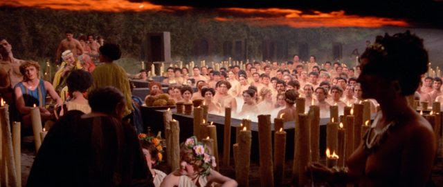 Fellini depicted Roman depravity in Satyricon, 1969