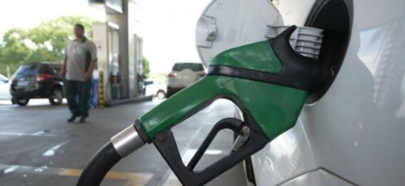 Preço da gasolina cai 0,1% e diesel sobe 1,1% nesta 5ª feira