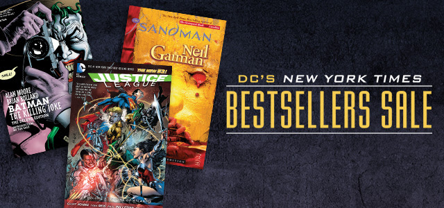 DC New York Times Bestsellers digital sale