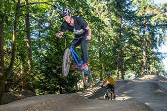 Redmond Bike Park jumper
