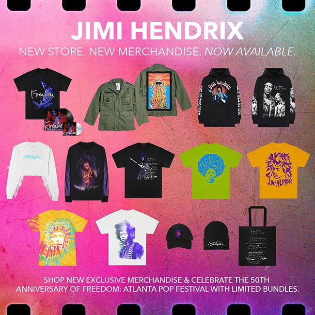 Jimi Hendrix Merch Store