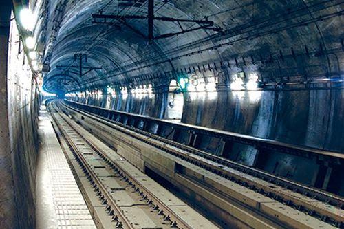 Rail tunnel -1