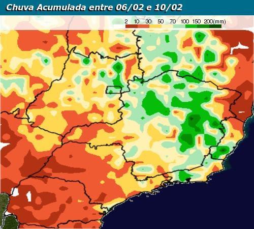 mapa de chuva