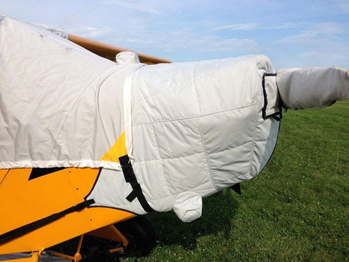 Bruce's Custom Covers Insulated Aircraft Covers