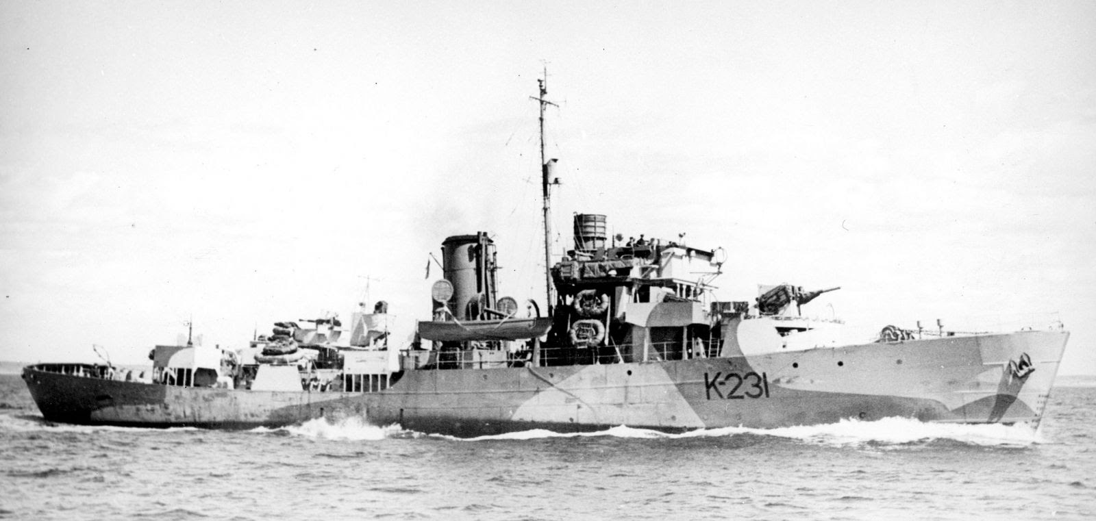 The sinking of U-536