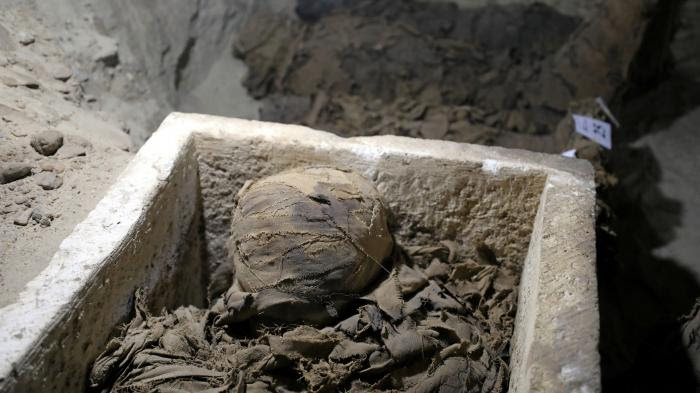 VIDEO. Egypte : 17 momies découvertes dans le centre du pays