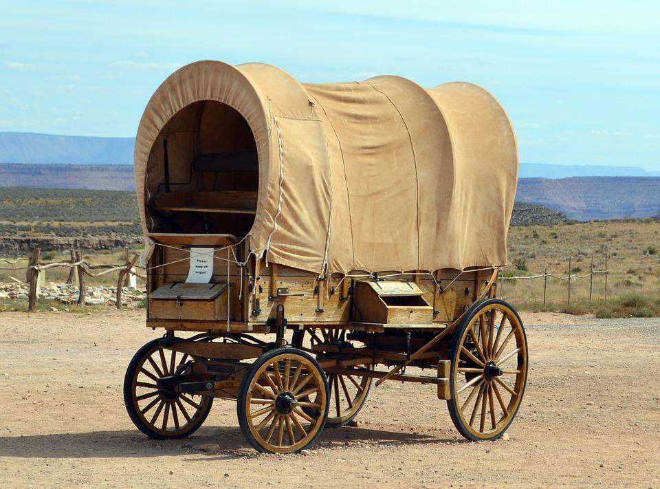 Cart, Wagon, Old, Wheel, Vintage, Retro, Carriage