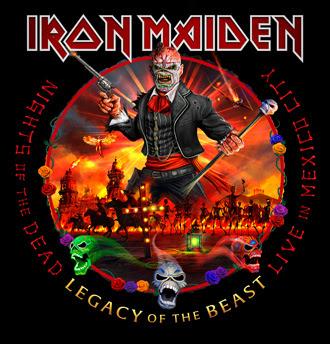 Iron Maiden veröffentlichen Datum für das neue Album Nights Of The Dead – Legacy Of The Beast, Live in Mexico City