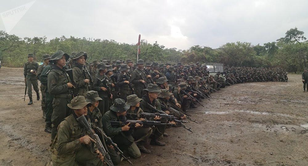 Cadetes de la Academia Militar Bolivariana de Venezuela