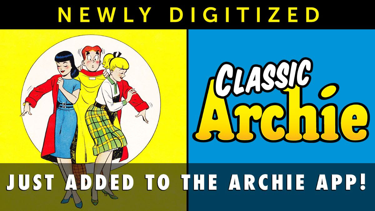 Newly Digitized Classic Comics!