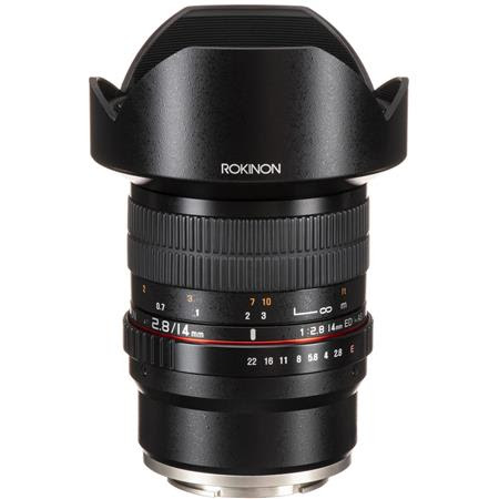 14mm F2.8 AS IF ED UMC Super Wide Angle, Manual Focus Lens for Sony E Mount