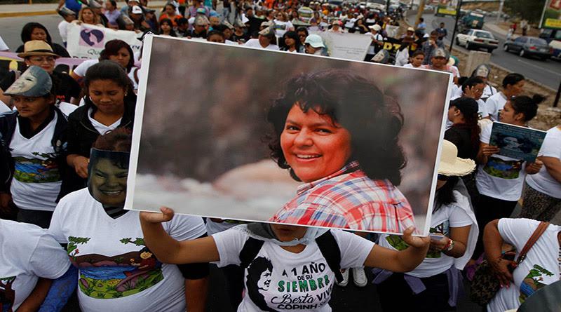 Sentencia a asesinos de Berta Cáceres