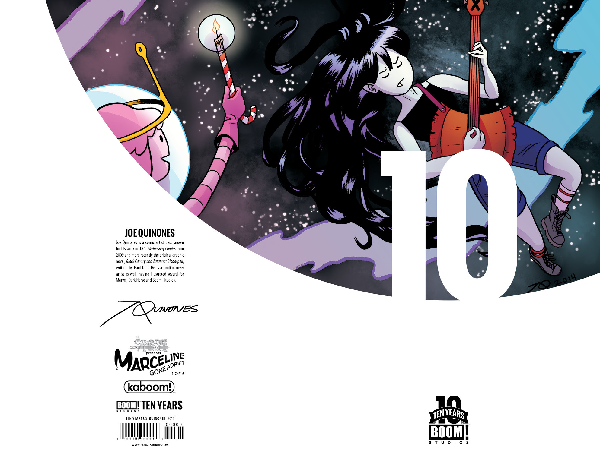 AT: Marceline 10 Years Cover