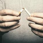 Breaking Cigarette