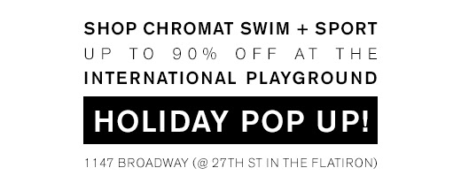 Shop Chromat SWIM + SPORT up to 90 % OFF @ IP >