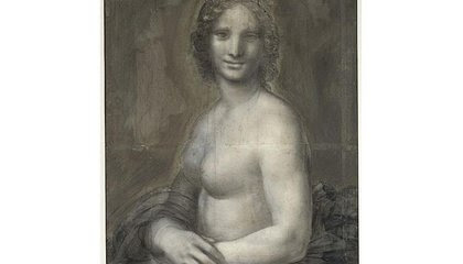 Experts Think This 'Nude Mona Lisa' Could Have Been Drawn by Leonardo da Vinci image