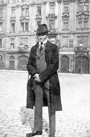 Franz Kafka en Praga