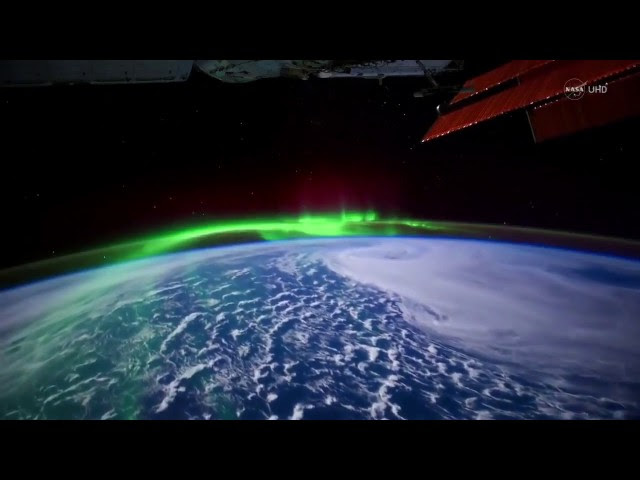 Stunning Aurora Borealis From Space  Sddefault