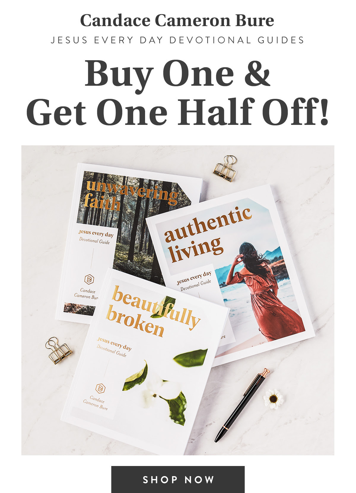 CCB Jesus Every Day Devotional Guides Buy One & Get One Half OFF!