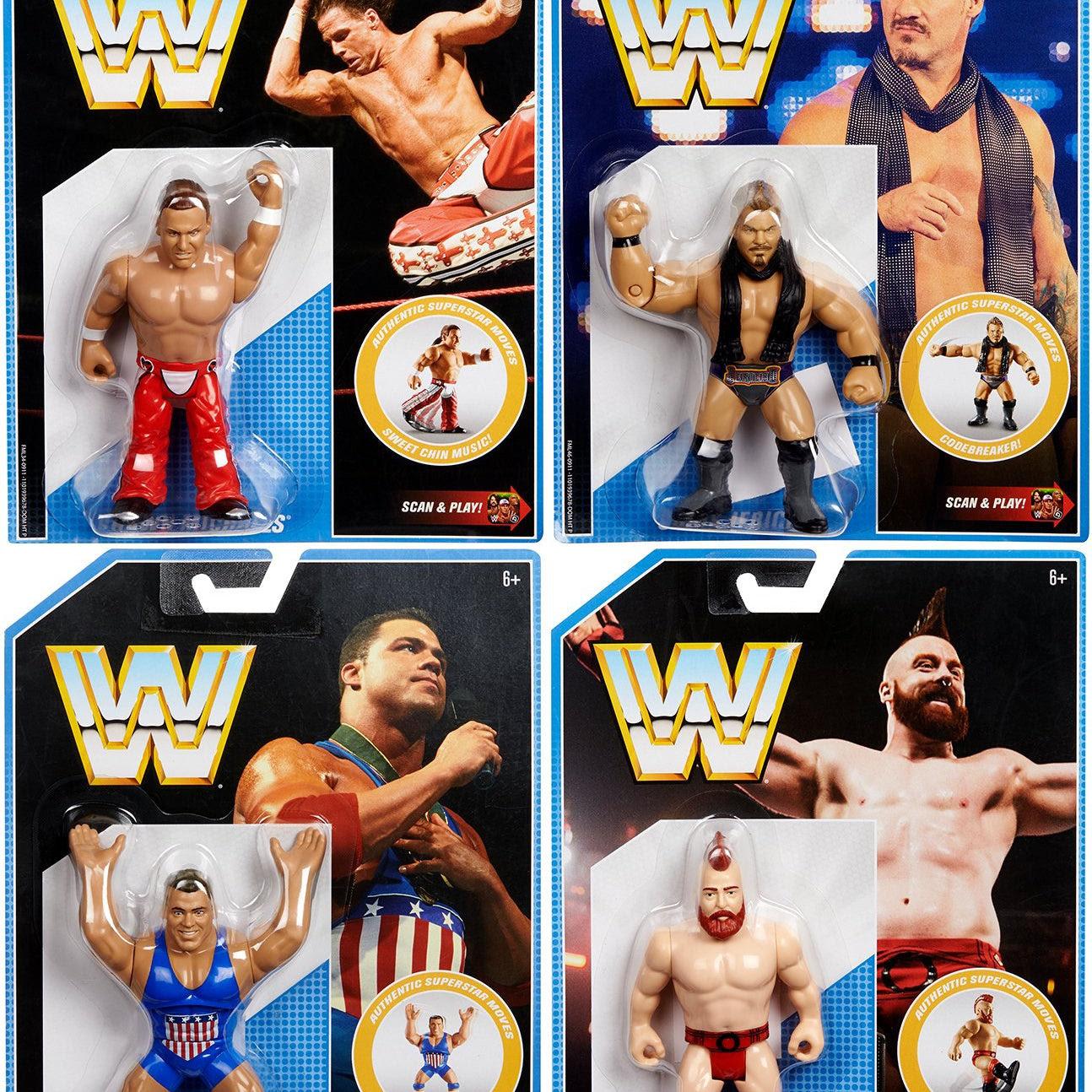 Image of WWE Retro Series 7 - Set of 4