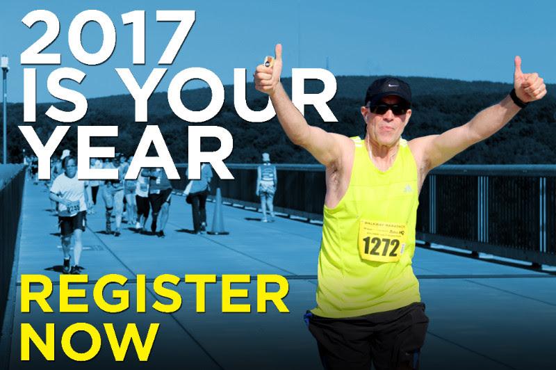 Register Now for the Third Annual Walkway Marathon by visiting WalkwayMarathon.org