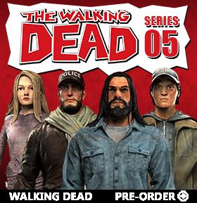 THE WALKING DEAD COMIC FIGURES