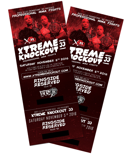 XKO 33 TICKET PAIR GRAPHIC