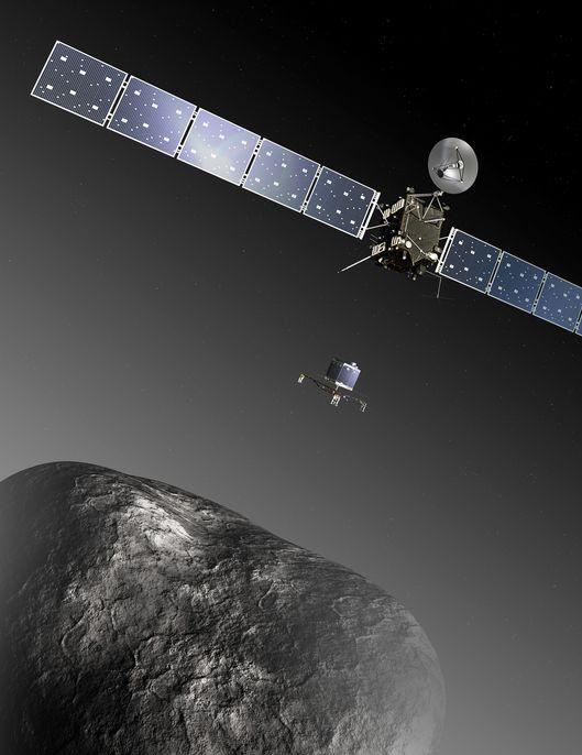 Rosetta drops the Lander