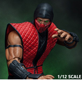 MORTAL KOMBAT ERMAC 1/12 SCALE SDCC EXCLUSIVE FIGURE