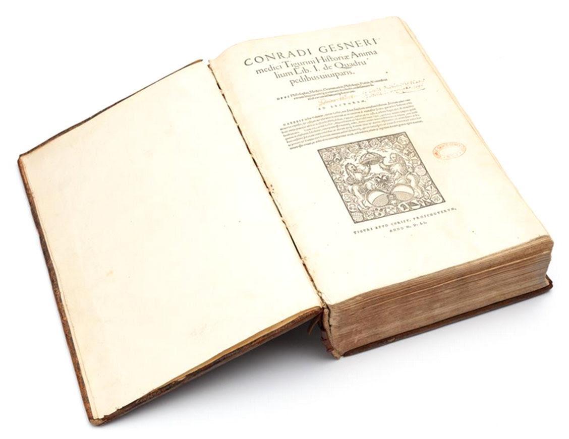 Lot 30. CONRAD GESSNER Historiae Animalium